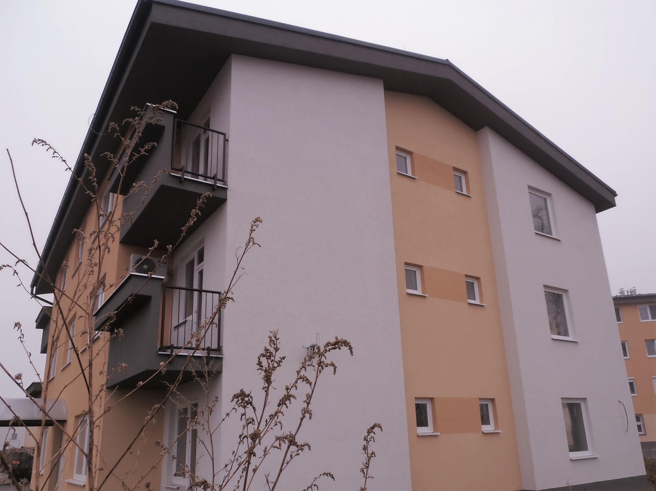 Stavebný projekt bytového domu
