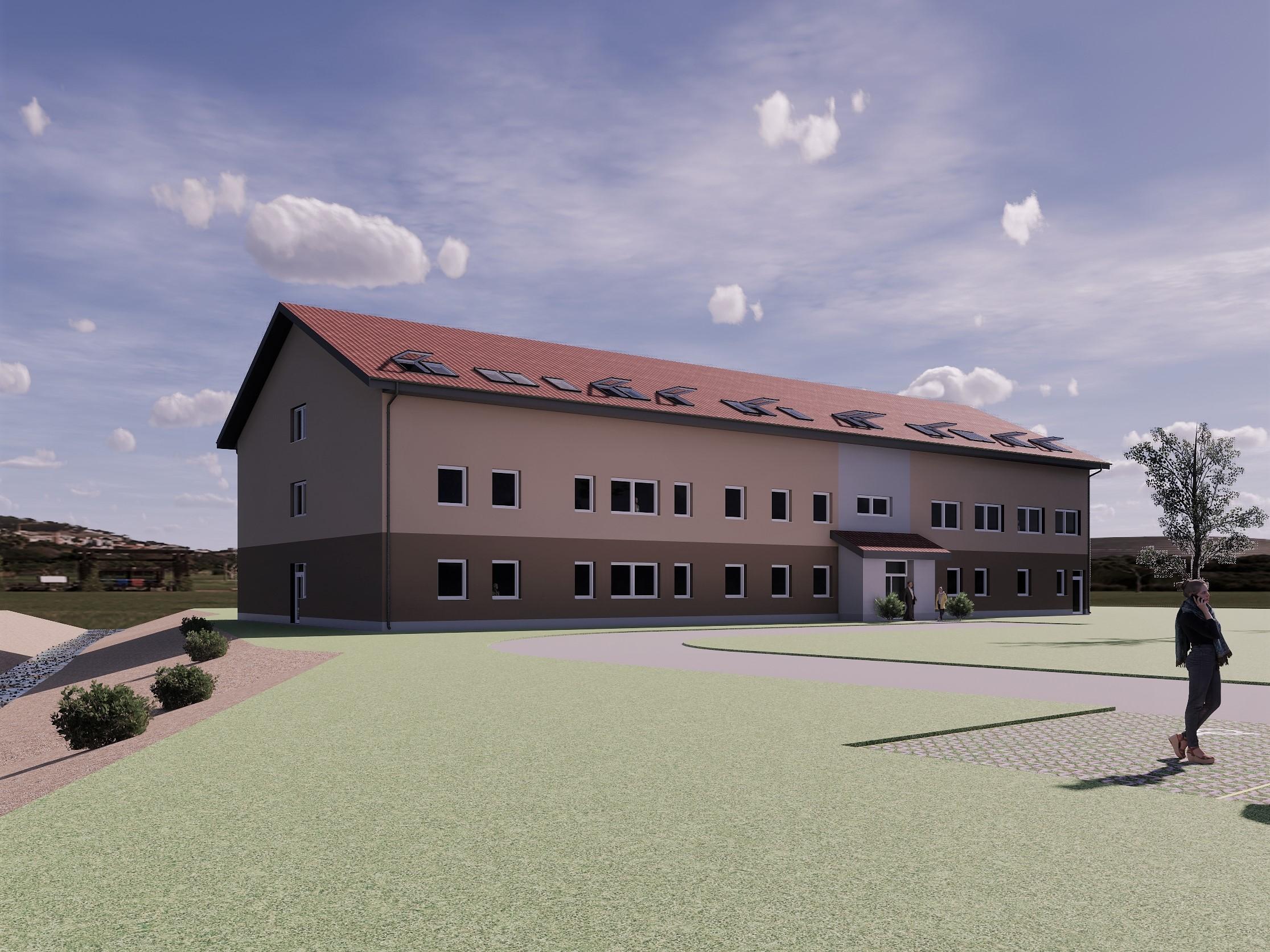 Stavebný inžinier projekt výstavby domovu sociálnych služieb DDS