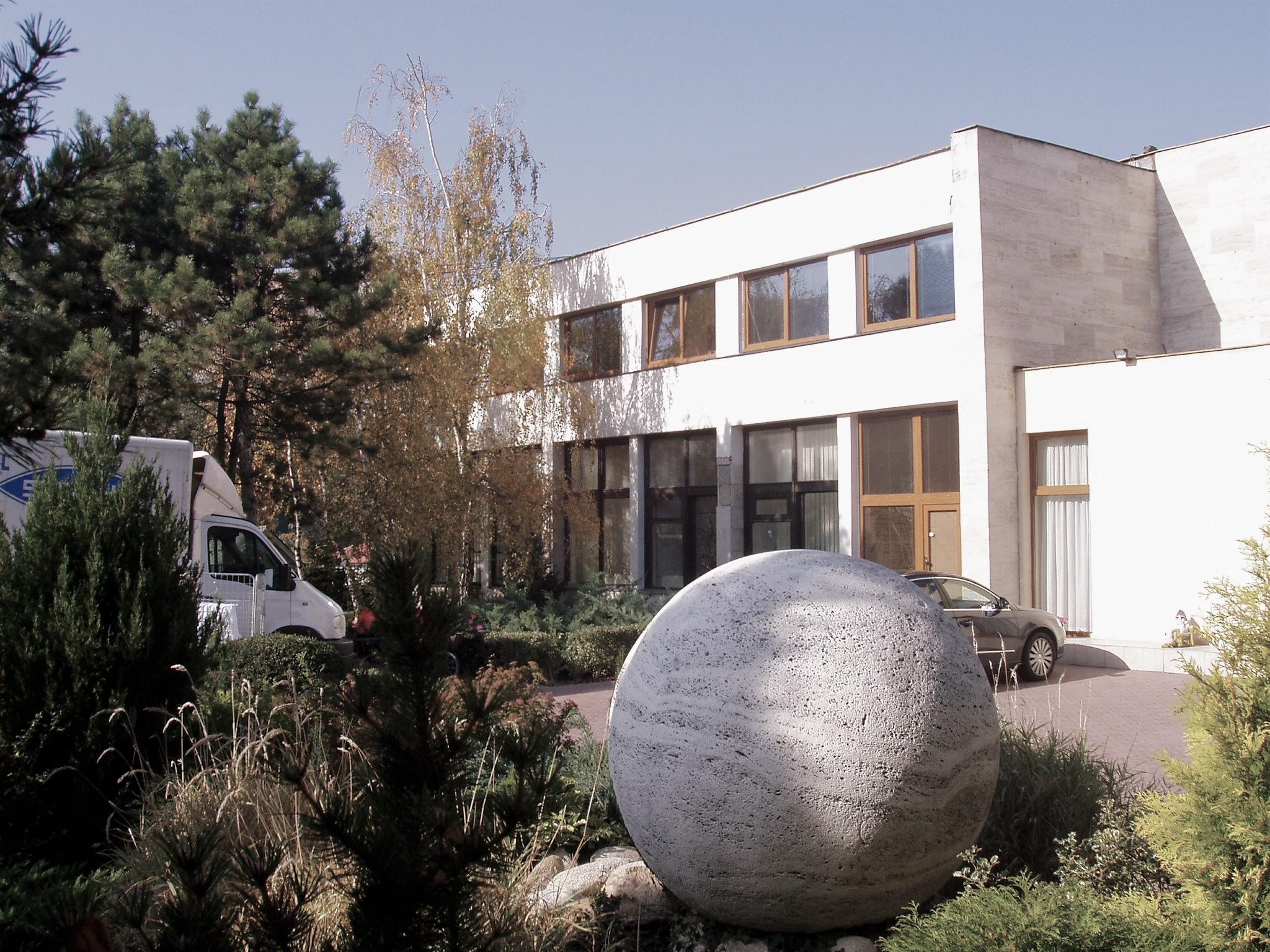 Projekt administratívnej budovy