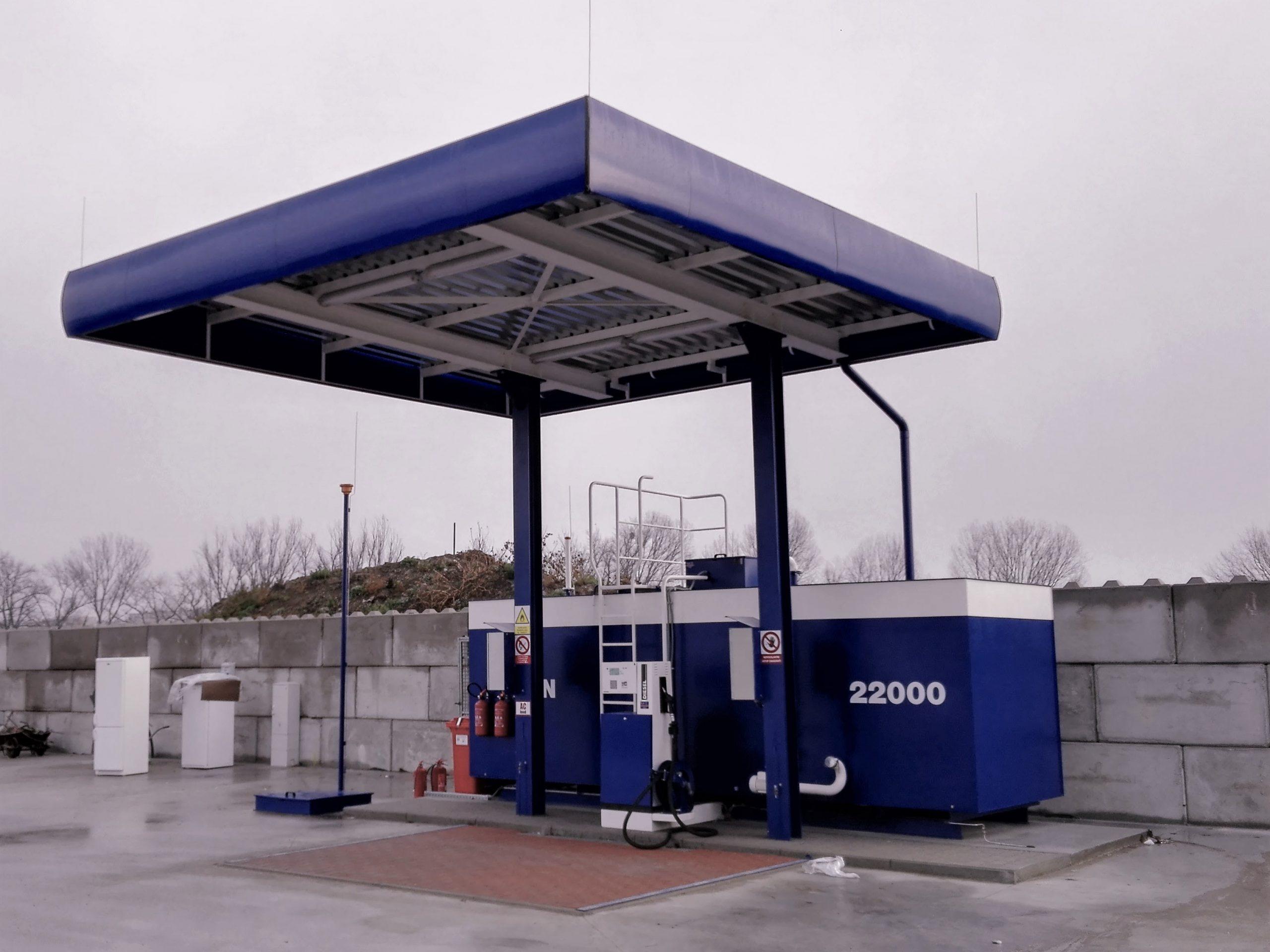 Projektovanie čerpacích staníc PHM