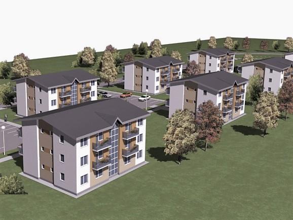 Projekcia bytových domov a bytov