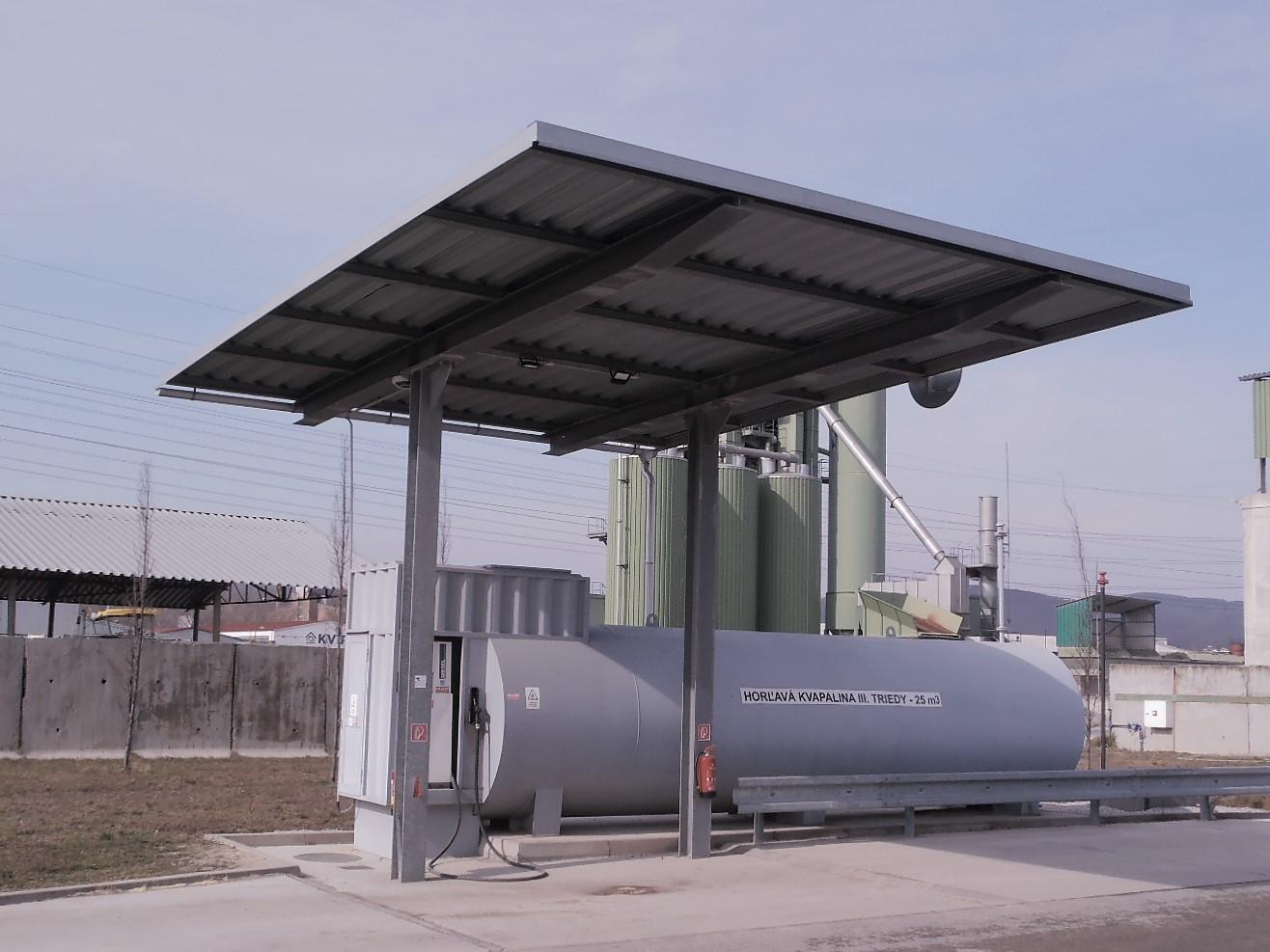 Stavebný inžinier projekt výstavby čerpacej stanice